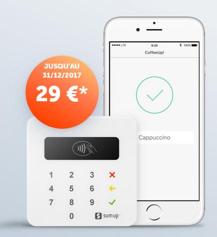 sumup terminal promo 29€