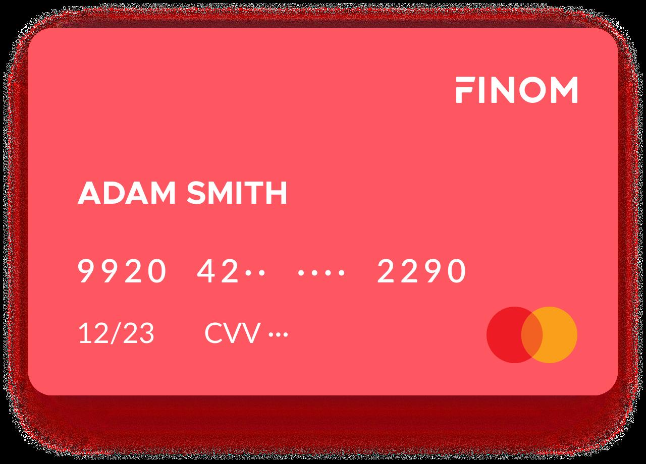 carte bancaire Finom